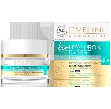 Eveline – Bio Hyaluron Expert Przeciwzmarszczkowy krem-koncentrat silnie ujędrniający 40+ (50 ml)