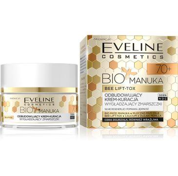 Eveline Bio Manuka – krem odbudowujący i wygładzający zmarszczki 70+ (50 ml)