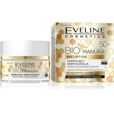 Eveline Bio Manuka – napinający krem przeciwzmarszczkowy 50+ (50 ml)