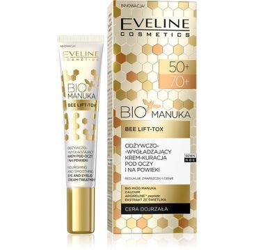 Eveline Bio Manuka – odżywczo-wygładzający krem pod oczy i na powieki 50+/70+ (20 ml)