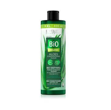 Eveline Bio Organic Aloes Bio Odżywka przeciw wypadaniu - włosy suche i osłabione (400 ml)
