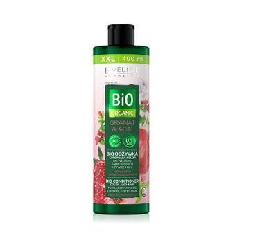 Eveline Bio Organic Granat & Acai Bio Odżywka chroniąca kolor - włosy farbowane i z pasemkami (400 ml)