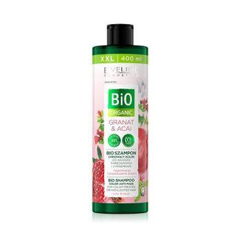 Eveline Bio Organic Granat & Acai Bio Szampon chroniący kolor - włosy farbowane i z pasemkami (400 ml)
