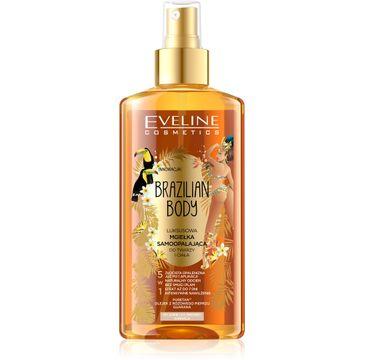 Eveline Brazilian Body – luksusowa mgiełka samoopalająca do twarzy i ciała 5w1 (150 ml)