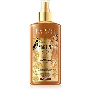 Eveline Brazilian Body – luksusowy złoty rozświetlacz do ciała 5w1 (150 ml)