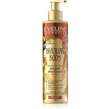 Eveline Brazilian Body nawil偶aj膮cy balsam br膮zuj膮cy do cia艂a 5w1 (200 ml)