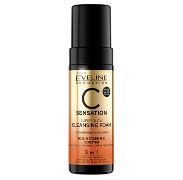 Eveline C Sensation Pianka do mycia twarzy (150 ml)