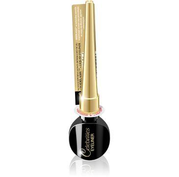 Eveline Celebrities Liquid Widelash Eyeliner – eyeliner w płynie czarny (1 szt.)