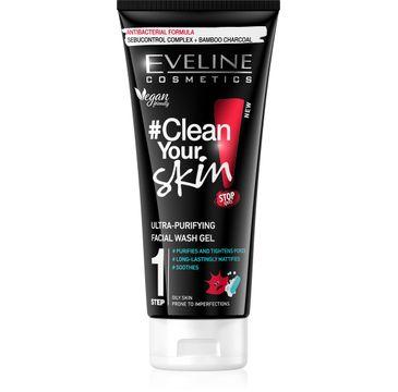 Eveline #Clean Your Skin Ultraoczyszczający Żel do mycia twarzy 200ml