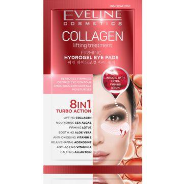 Eveline Collagen – hydrożelowe płatki pod oczy ujędrniające 8w1 (1 op.)