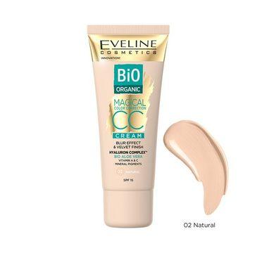 Eveline Cosmetics Bio Organic Magical Color Correction Cream krem CC z mineralnymi pigmentami 02 Natural (30 ml)