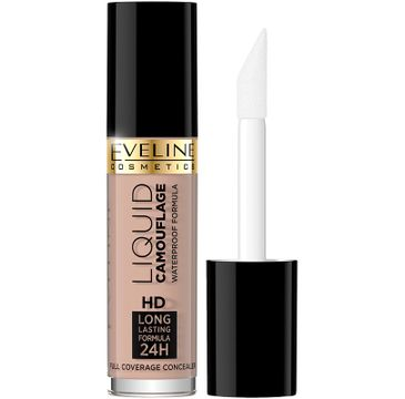 Eveline – Cosmetics Liquid Camouflage Full Coverage Concealer korektor kryjący do twarzy 02A (5 ml)