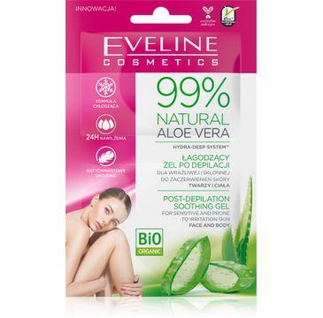 Eveline Natural Aloe Vera 99%  łagodzący żel po depilacji (2 x 5 ml)