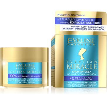 Eveline Egyptian Miracle – krem-ratunek do twarzy, ciała i włosów (40 ml)