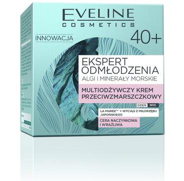 Eveline Ekspert Odmłodzenia – multiodżywczy krem przeciwzmarszczkowy 40+ (50 ml)