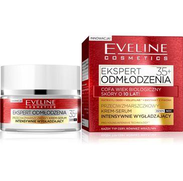 Eveline Ekspert Odmłodzenia – krem-serum intensywnie wygładzający 35+ (50 ml)
