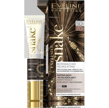 Eveline Exclusive Snake – krem-maska pod oczy napinająco-wygładzający 50+/70+ (20 ml)