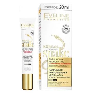 Eveline Exclusive Snake napinająco-wygładzający krem-maska pod oczy i na powieki 50+/70+ (20 ml)