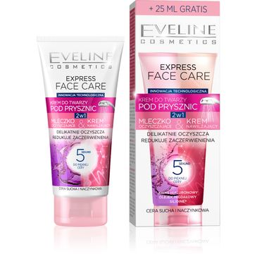 Eveline Express Face Care – krem do twarzy pod prysznic (100 ml)
