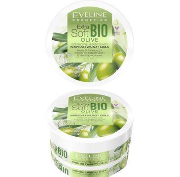 Eveline – Extra Soft Bio Olive intensywnie regenerujący krem do twarzy i ciała (200 ml)