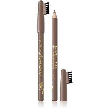 Eveline Eyebrow Pencil – kredka do brwi – jasny brąz (0.8 g)