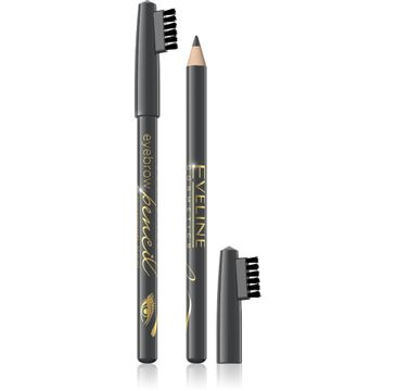 Eveline Eyebrow Pencil – kredka do brwi – szara (0.8 g)