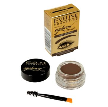 Eveline Eyebrow Pomade – pomada do brwi Soft Brown (1 szt.)