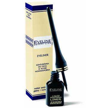 Eveline Liquid Precision Liner – eyeliner w płynie wodoodporny (1 szt.)
