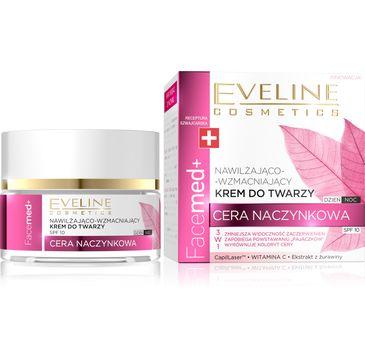 Eveline Facemed+ –  krem do twarzy nawilżająco - wzmacniający do cery naczynkowej (50 ml)