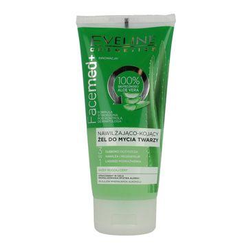 Eveline Facemed+ – żel do mycia twarzy nawilżająco-kojący 3w1 (150 ml)