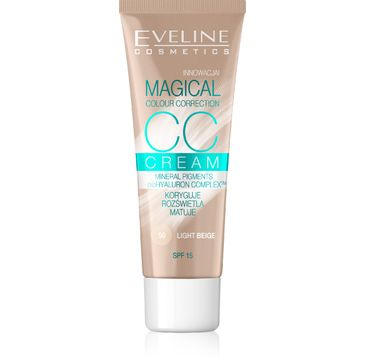 Eveline Fluid do twarzy Magical CC Cream nr 50 Jasny Beż 30 ml