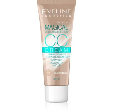Eveline Fluid do twarzy Magical CC Cream nr 52 Średni Beż 30 ml