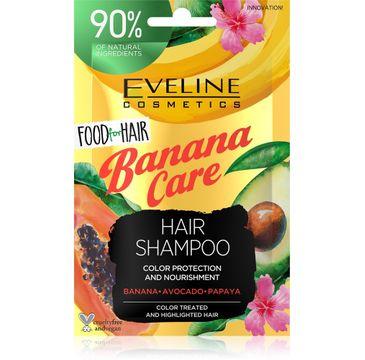 Eveline – Food For Hair szampon odżywczy Banan saszetka (20 ml)