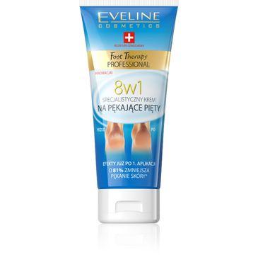 Eveline Foot Therapy Professional – krem na pękające pięty 8w1 (100 ml)