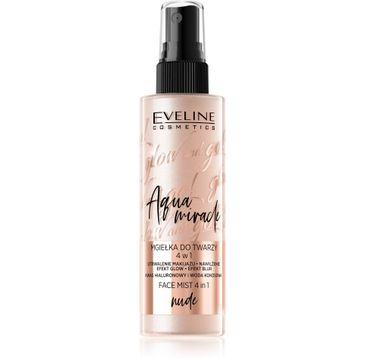 Eveline Glow and Go! – Aqua Miracle mgiełka utrwalająca do twarzy 4w1 nr 01 nude (110 ml)