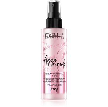 Eveline Glow and Go! – Aqua Miracle mgiełka utrwalająca do twarzy 4w1 nr 02 pink (110 ml)