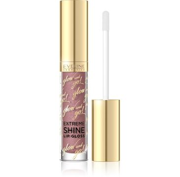 Eveline Glow and Go Błyszczyk do ust Extreme Shine nr 05 Sparkling Caramel 4.5 ml