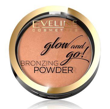 Eveline Glow & Go Bronzer wypiekany nr 02 Jamaica Bay