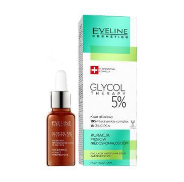 Eveline Glycol Therapy – kuracja przeciw niedoskonałościom kwas glikolowy (18 ml)