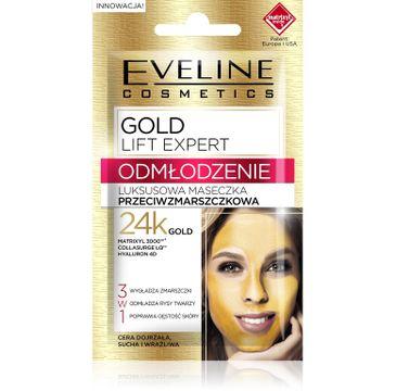 Eveline Gold Lift maseczka przeciwzmarszczkowa luksusowa saszetka (7 ml)