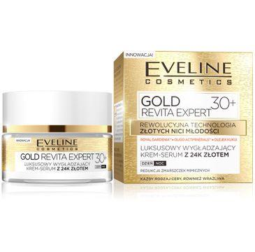 Eveline Gold Revita Expert 30+ – krem-serum wygładzające na dzień i noc (50 ml)