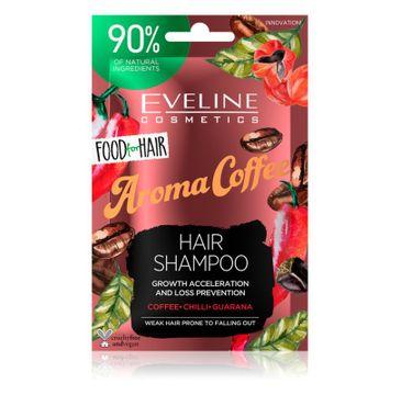 Eveline – Food For Hair szampon Kawa wzmacniający do przerzedzonych włosów z tendencją do wypadania saszetka (20 ml)