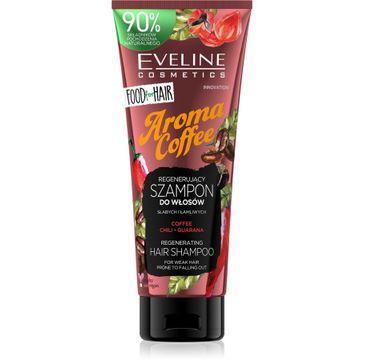 Eveline – Food for Hair Aroma Coffee Szampon do włosów słabych i łamliwych - regeneracja i wzmocnienie (250 ml)