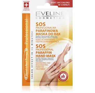 Eveline Hand & Nail maseczka parafinowa do rąk i paznokci regenerująca 7 ml