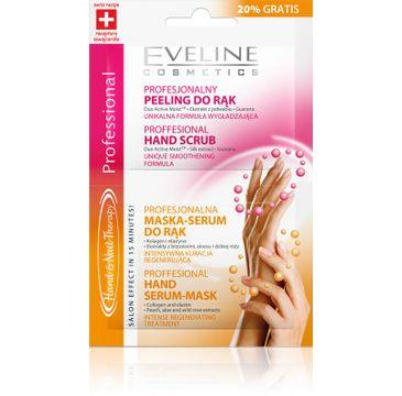 Eveline Hand & Nail Therapy maska i peeling do rąk wygładzająca saszetka 2 x 6 ml
