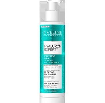 Eveline Hyaluron Ekspert – głęboko nawilżające mleczko micelarne (200 ml)