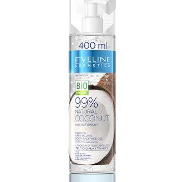 Eveline Hydrożel do ciała i twarzy Naturalny Kokos (400 ml)