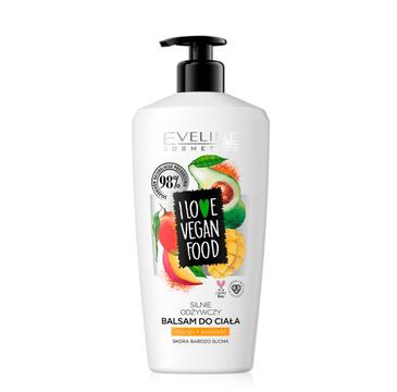 Eveline I Love Vegan Food Body Balsam silnie odżywczy balsam do ciała (350 ml)