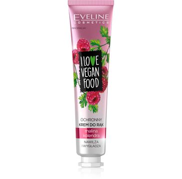 Eveline I Love Vegan Food (krem ochronny do rąk Malina i Kolendra 50 ml)