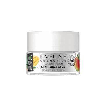 Eveline I Love Vegan Food - naturalny krem silnie odżywczy mango i olej konopny (50 ml)